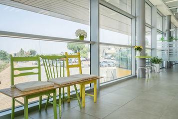 עיצוב פינת ישיבה משרדים סיגל סיוון ידוב.