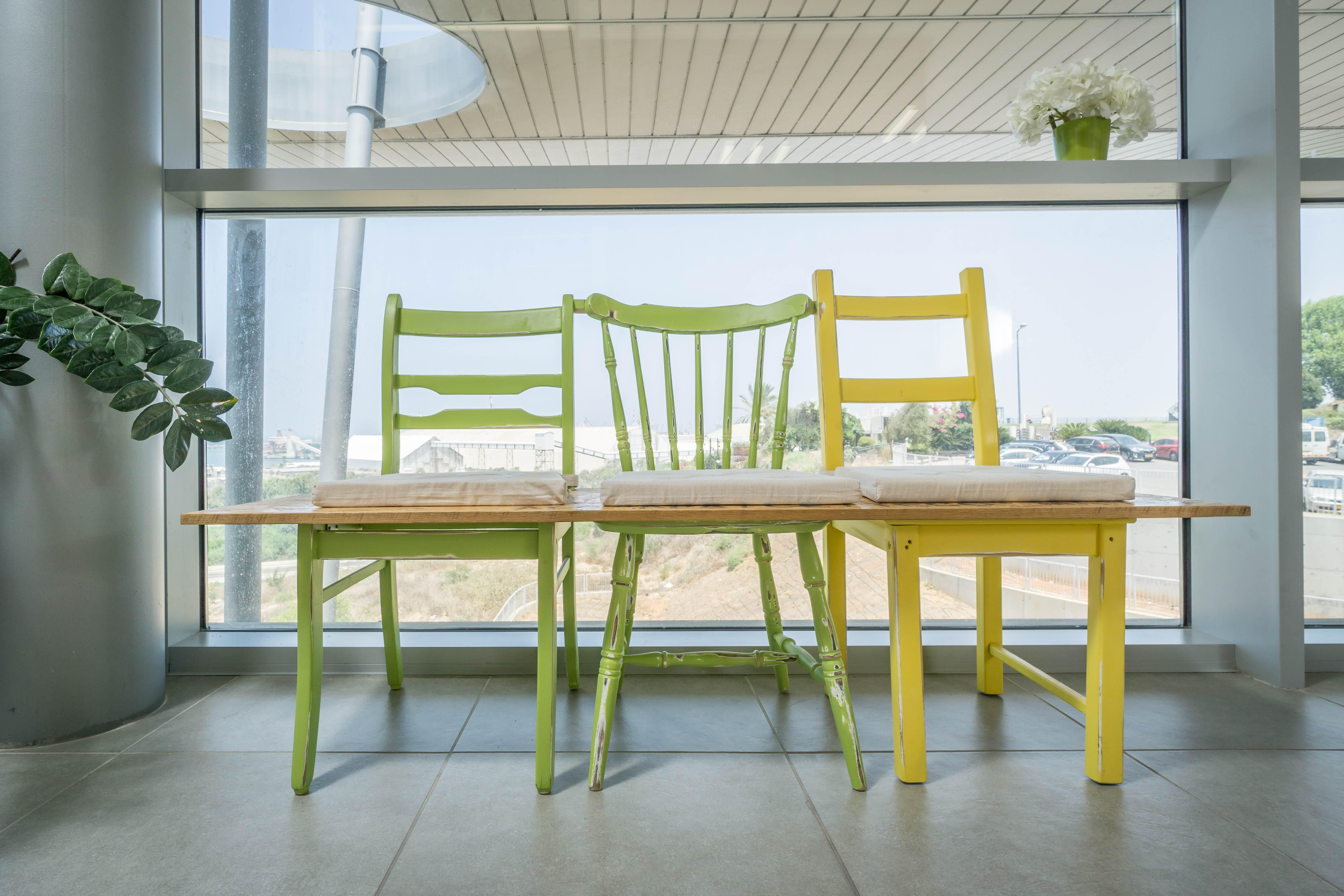 עיצוב פינת ישיבה בכניסה למשרד