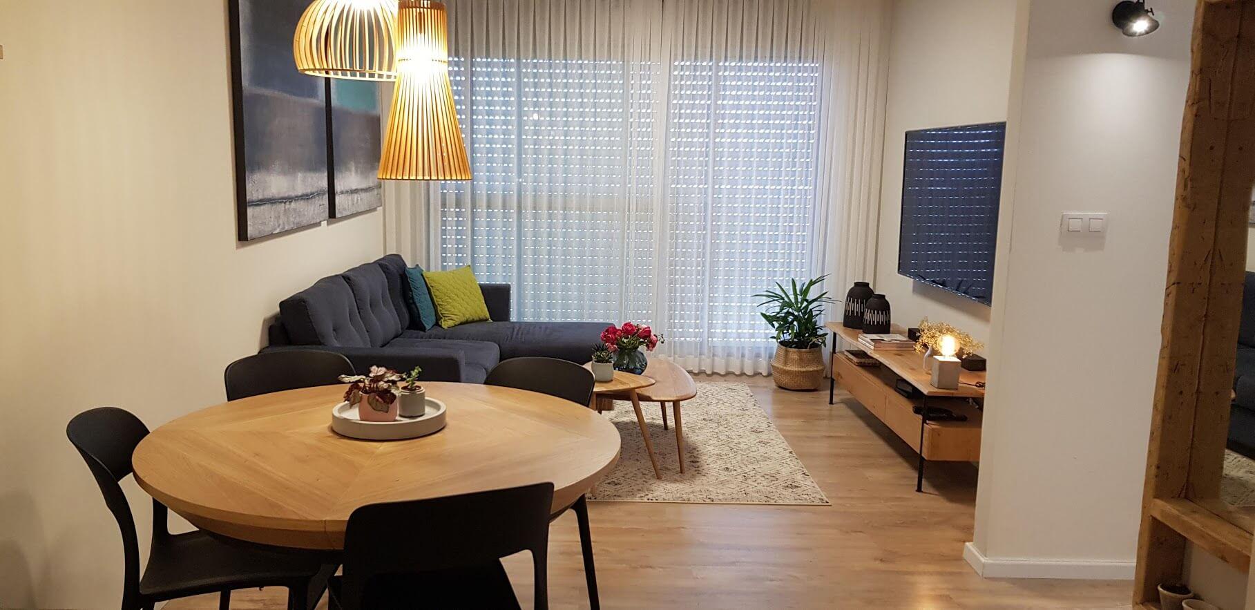 עיצוב דירה קטנה סיגל סיוון ידוב