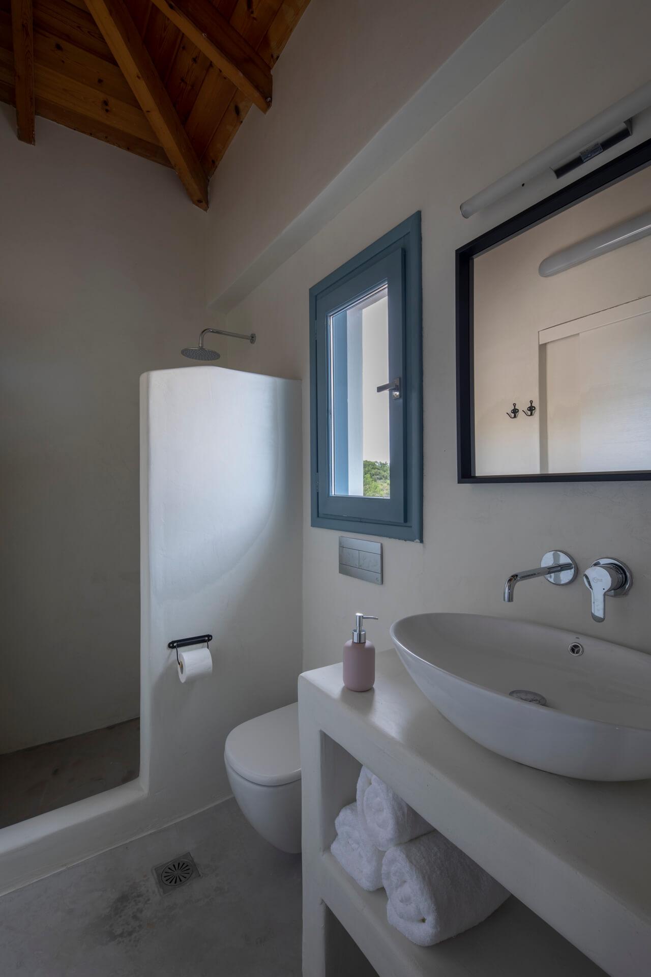 עיצוב חדר רחצה דירת נופש סיגל סיוון ידוב