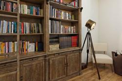 ספרייה חדר עבודה