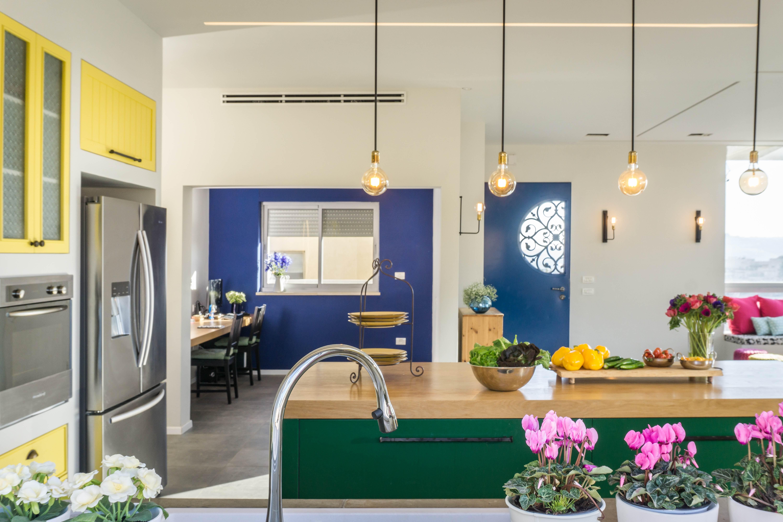 עיצוב בית בצבעים