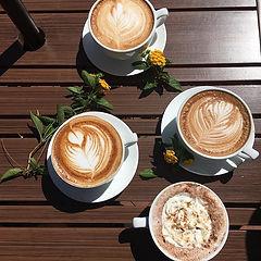 latte, cappucino, coffee, espresso, tea, latte art, hot chocolate, mocha, peppermint, pumpkin, batdorf, bronson