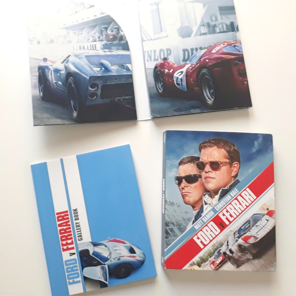 Ford V Ferrari Out Now On 4k And Blu Ray