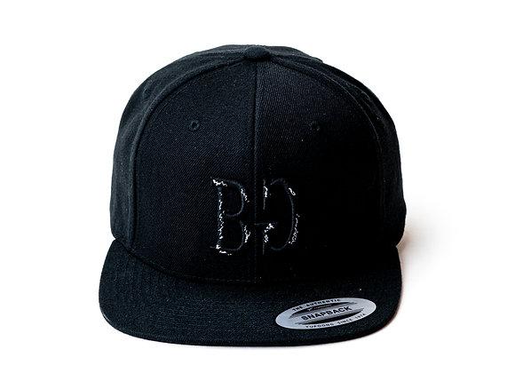 BG Black Snapback - Bar Goed