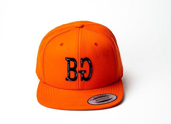 BG Orange Snapback - Bar Goed