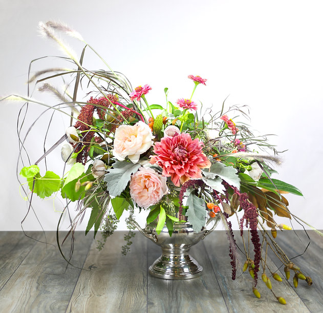 Flemish, flemish floral, banquet flowers, banquet bouquet, silver screen, hollywood, starlet