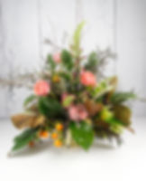 Flemish, flemish floral, banquet flowers, banquet bouquet, citrus, fruit flowers