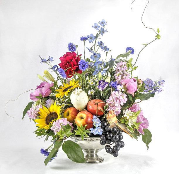 Flemish, flemish floral, banquet flowers, banquet bouquet