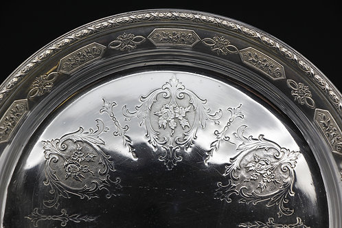 Louis XIV Sterling Butter Dish