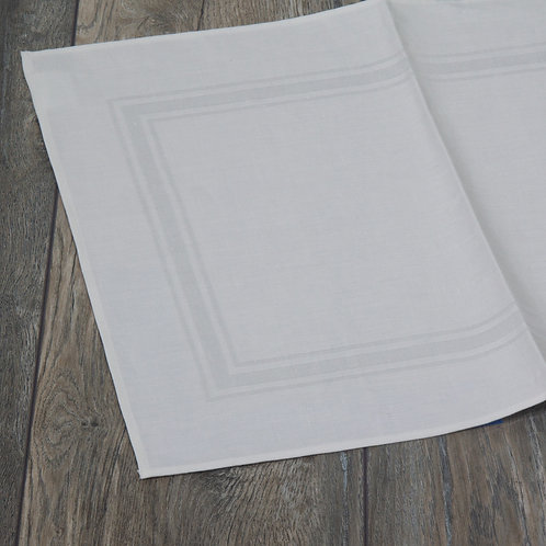 Imperial - Damask White Placemat Set