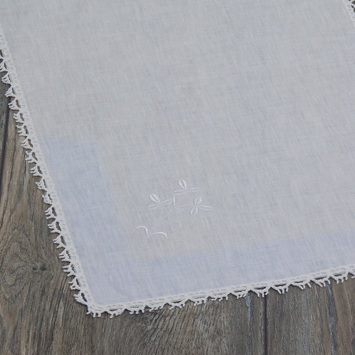 Shamrock - Hand Drawn White Placemat