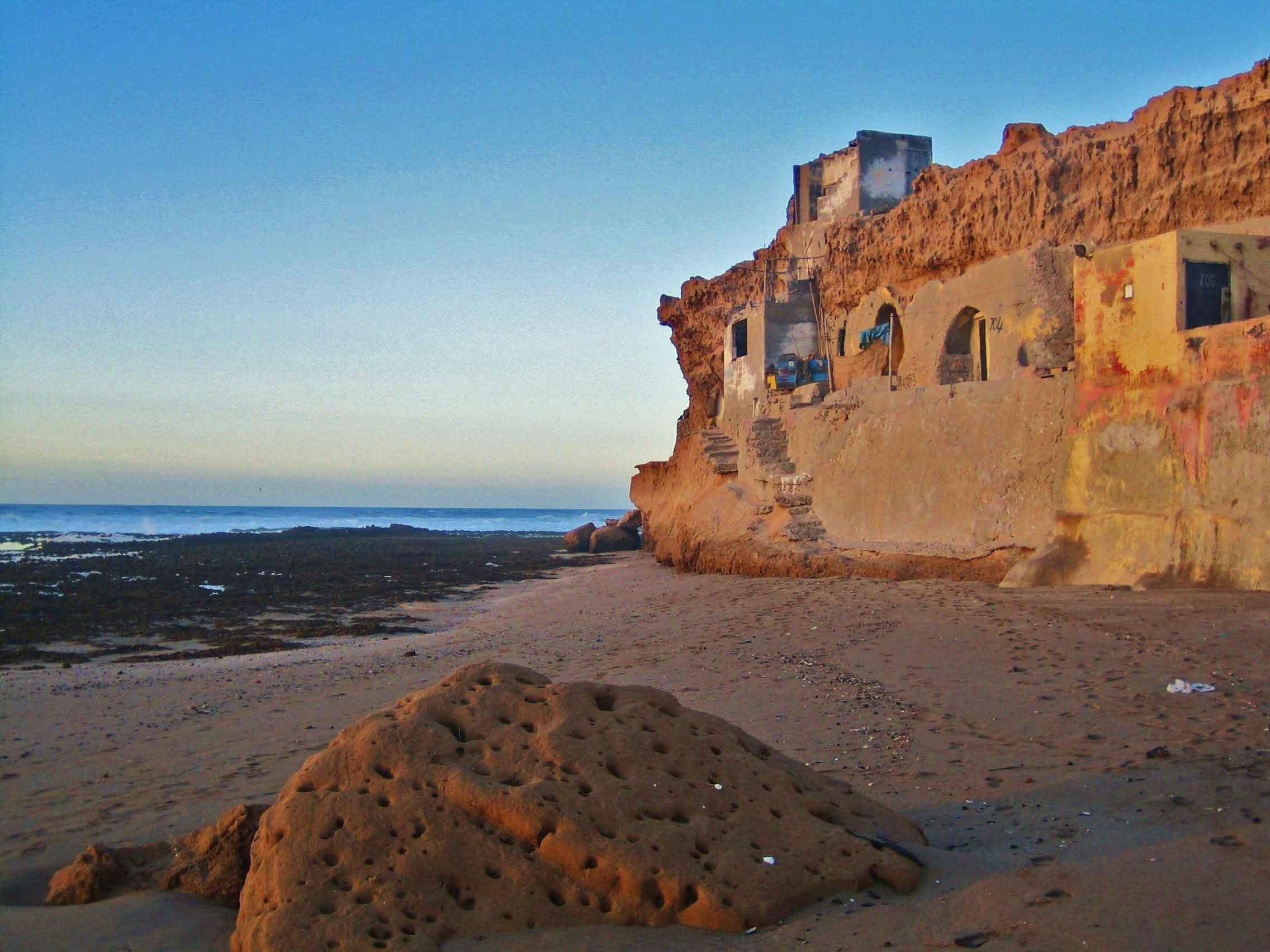 Maisons troglodytes de pêcheur Aftes