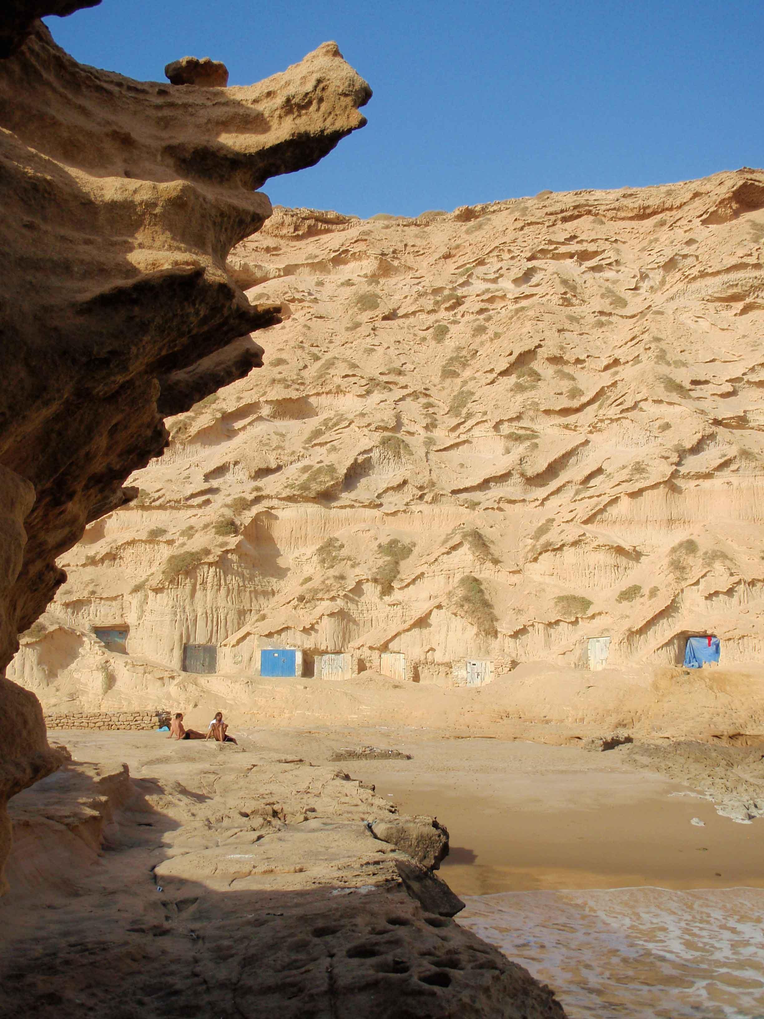 Falaises et plages de Issoh