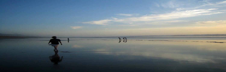 Ballades sur la plage d'aglou