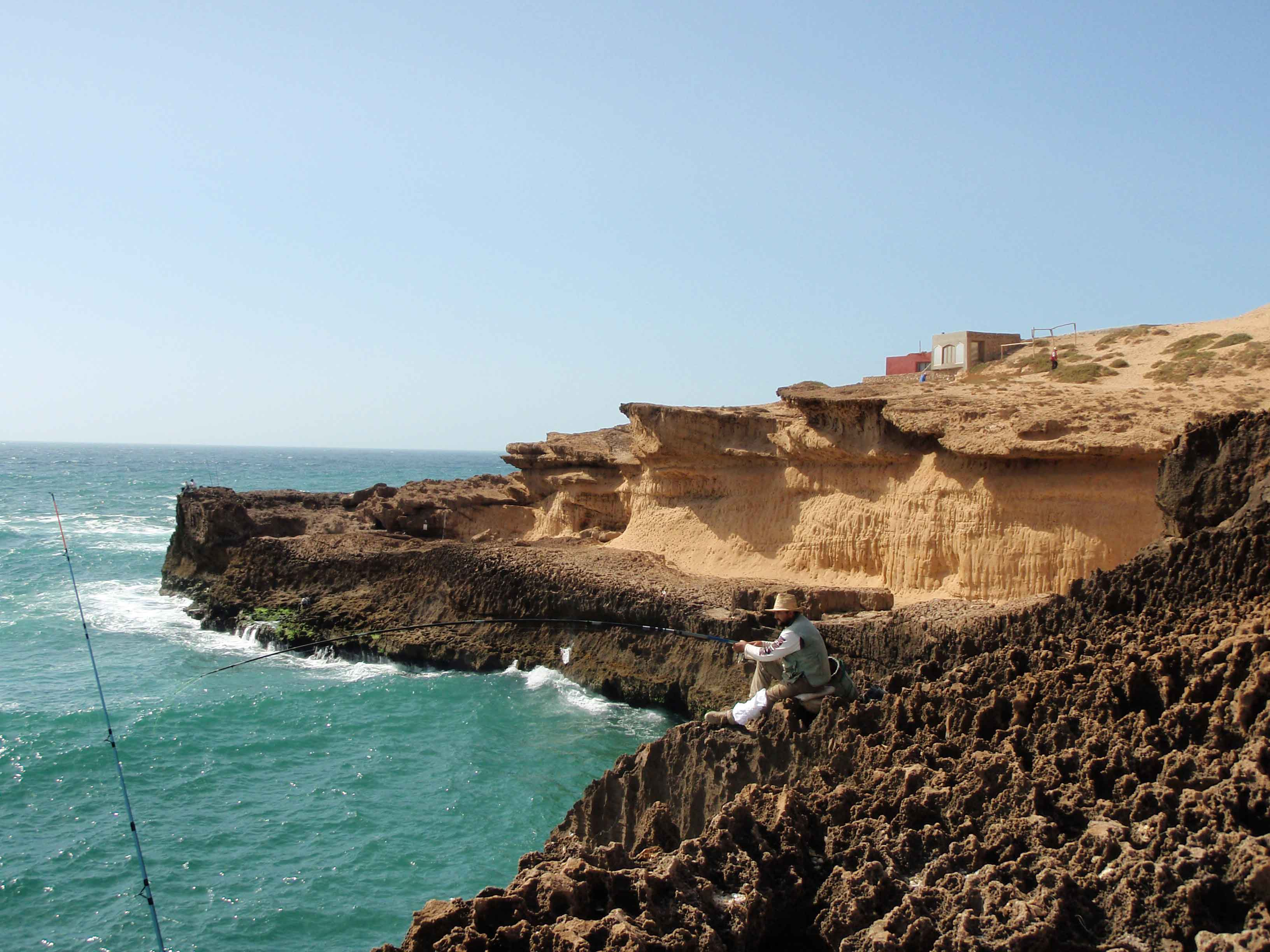 Les falaises de Issoh