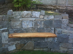 Nelson, wood bench