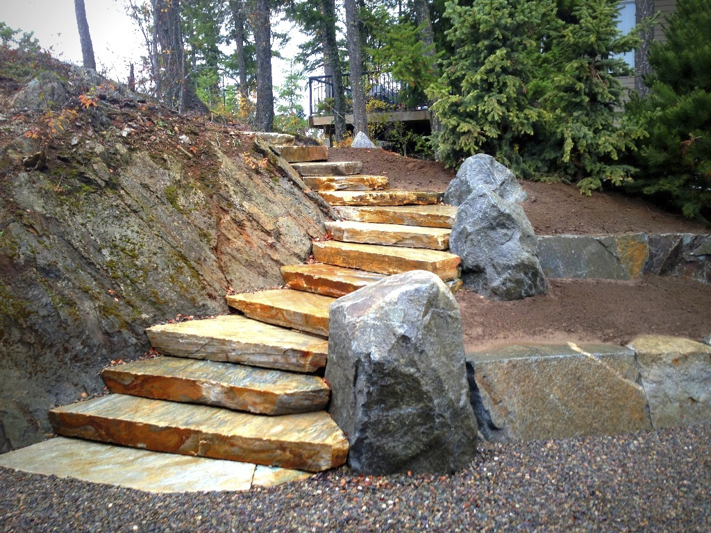 Grey Creek Stairs Complete