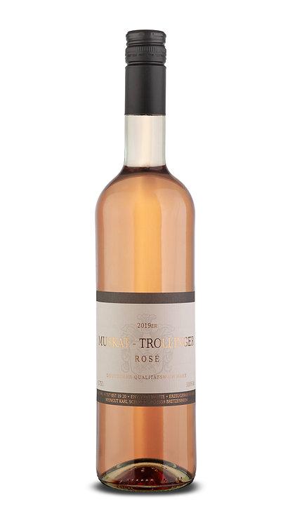 Rosé MUSKAT-TROLLINGER QW - 2019 lieblich