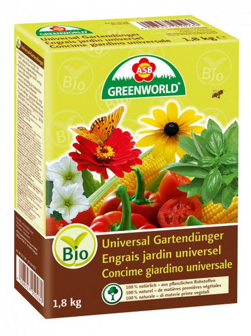 ASB Bio Universal Gartendünger 1.8kg (Granulat)