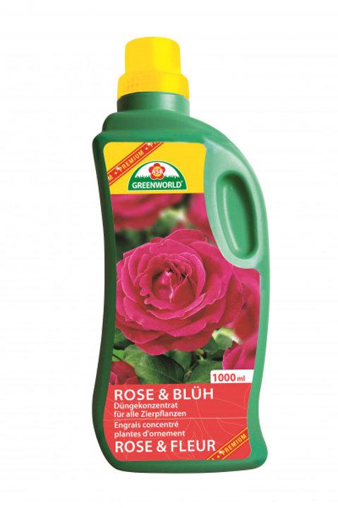 ASB Rosen- & Blühpflanzendünger 1l