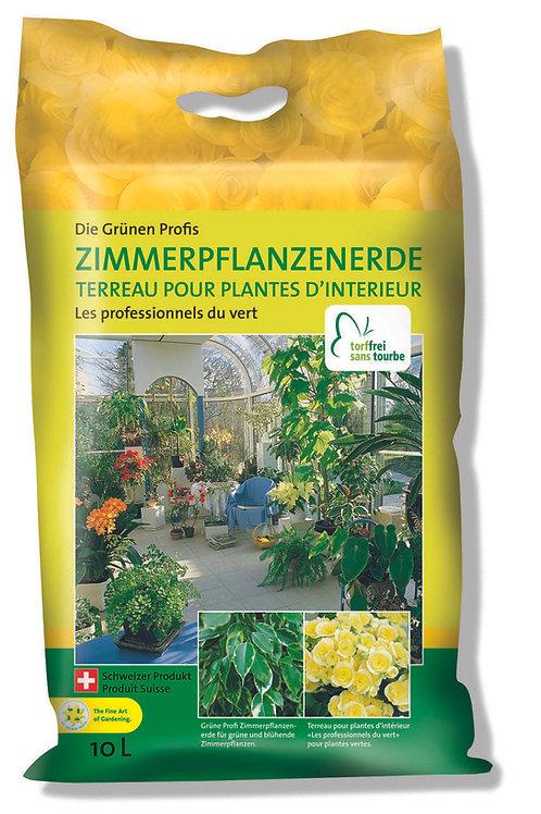 EGP Zimmerpflanzenerde ohne Torf,10 l,1/2 Pal.