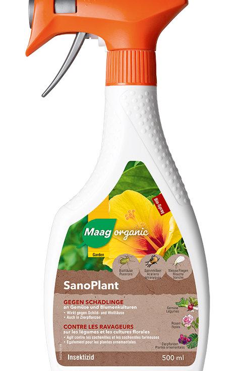 Maag SanoPlant Spray gegen Schädlinge 500 ml
