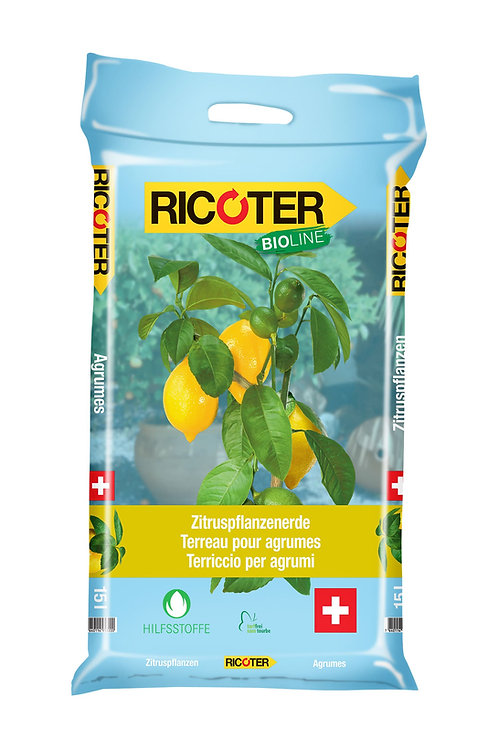 Zitruspflanzenerde Bio-Line, 15 l, 1/2 Pal.