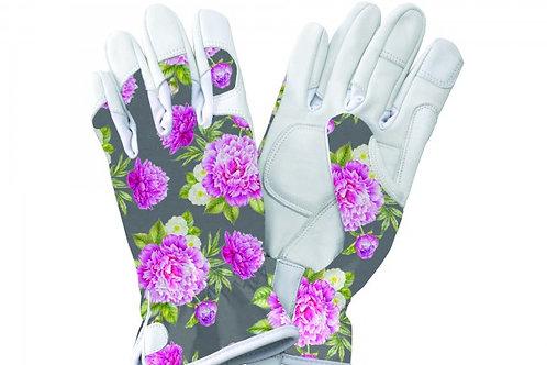 Premium Leder Handschuh 'Peony', Ladies M