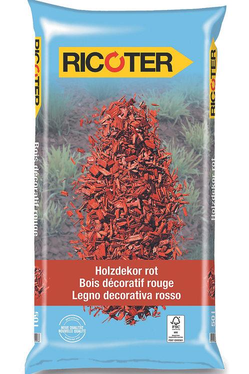 Holzdekor rot 10-40 mm, 50 l
