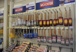 Wooster brushes and rollers