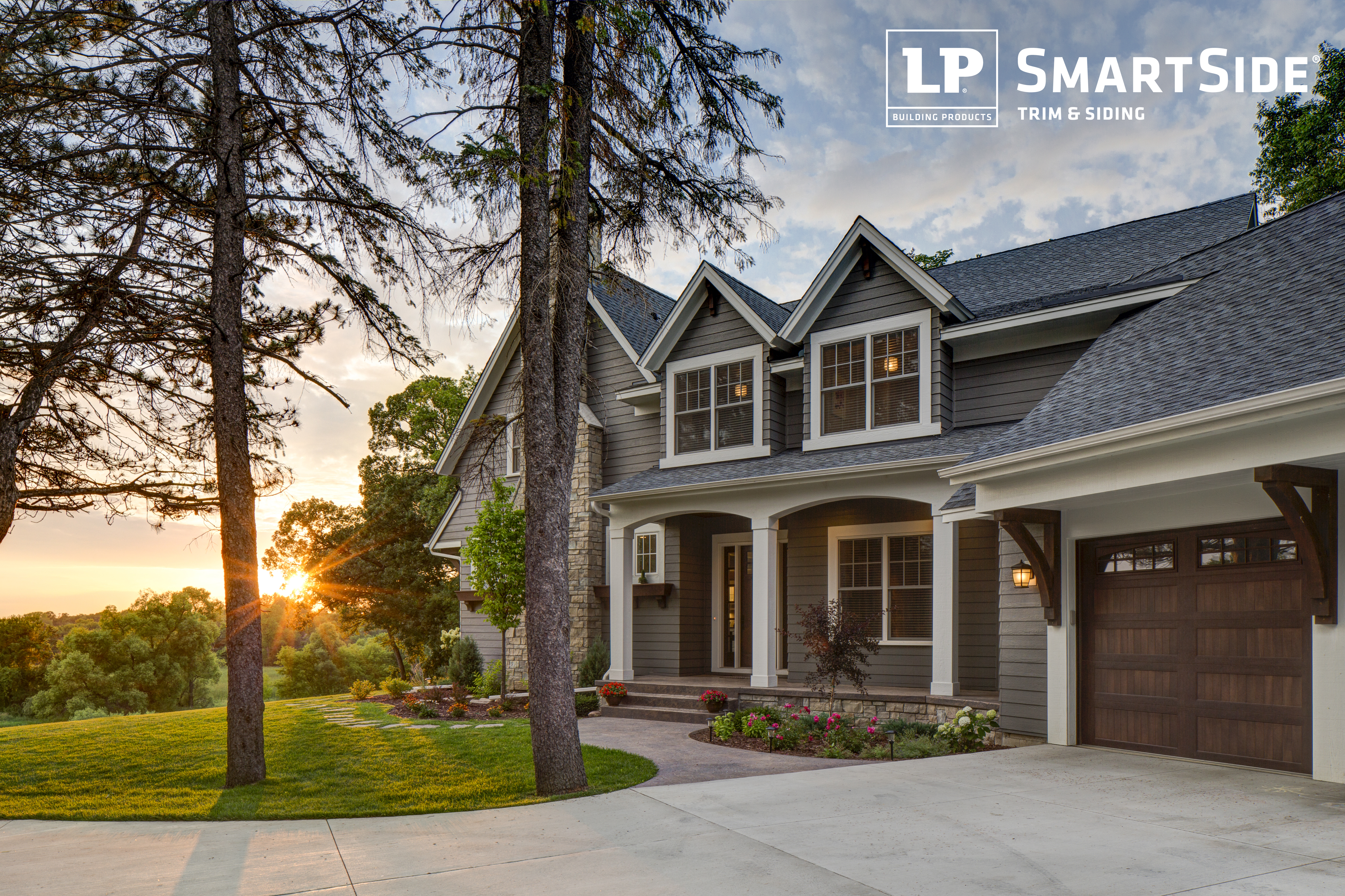 LP SmartSide siding