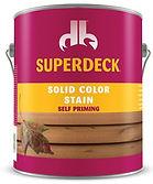 Superdeck by Deckback deck stain