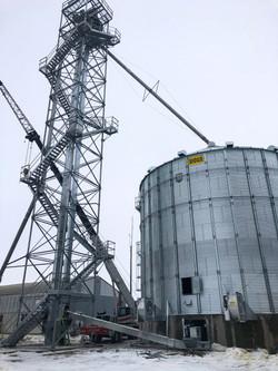 Sioux Grain Elevator 1