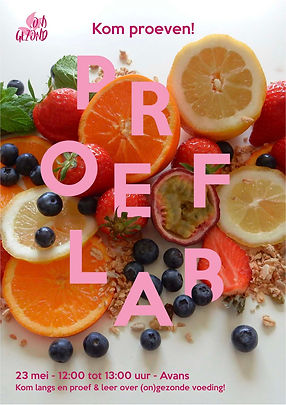 Poster proeflab