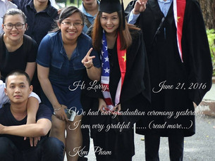 A letter from Kim Pham