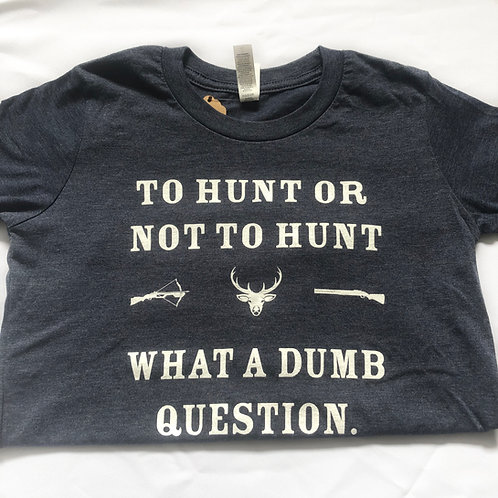 What A Dumb Question Kids Tee