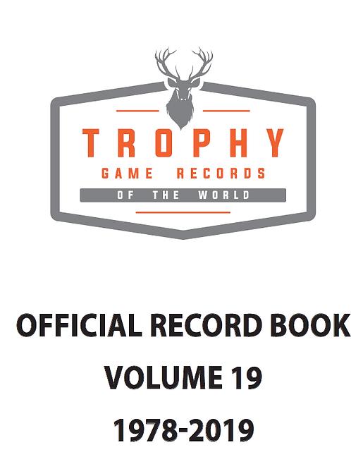 Official Record Book Vol. 19 Digital
