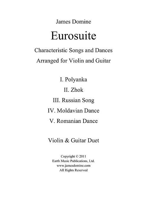 Duetto: Eurosuite for Violin & Guitar