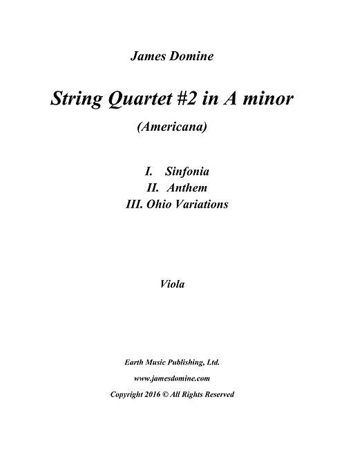 String Quartet #2 (Americana)