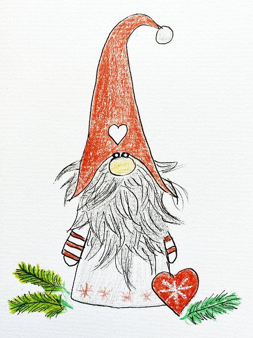 Carte - Elf de Coeur