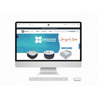 Passion Spa website design