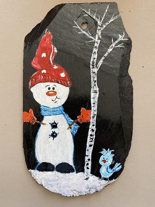 Ardoise naturelle Peinture acrylique