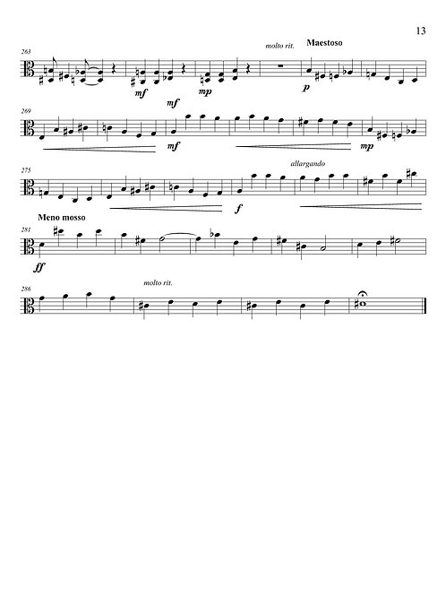 String Quartet #3 (Gothic)