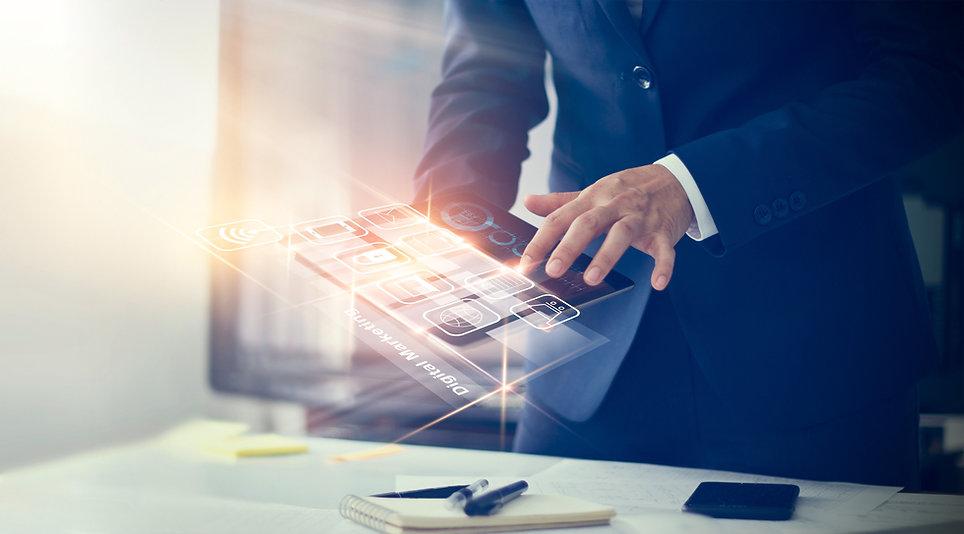 digital-marketing-businessman-using-mode