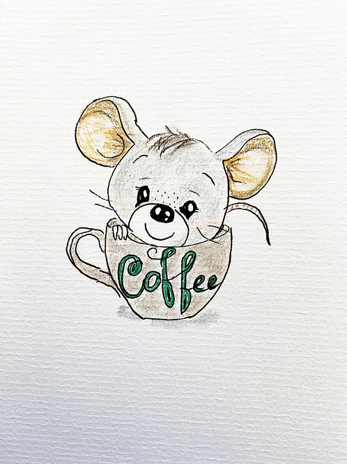 Carte - Souris Coffee