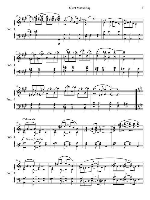 Piano solo – Silent Movie Rag: Tarzana