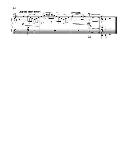 Piano Sonata #1 in C major (Commedia dell'arte)