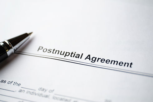 legal-document-postnuptial-agreement-pap