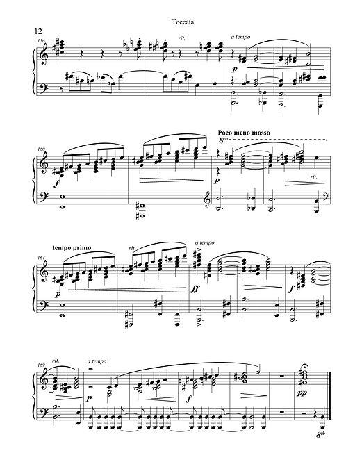 Piano solo - Toccata for Piano Solo